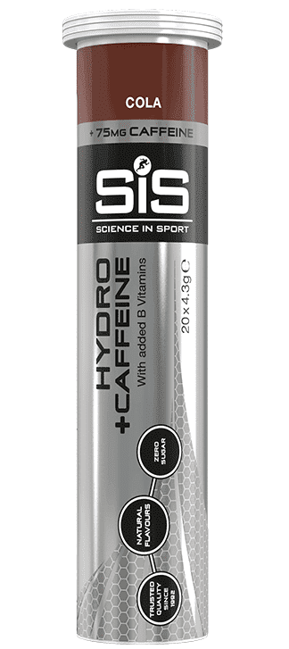 Купить Напиток изотонический SIS в растворимых таблетках с кофеином (20шт тубе)