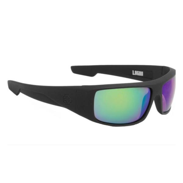 Очки солнцезащитные SPY OPTIC Spy Optic Logan Happy черный очки солнцезащитные spy optic spy optic dirty happy белый