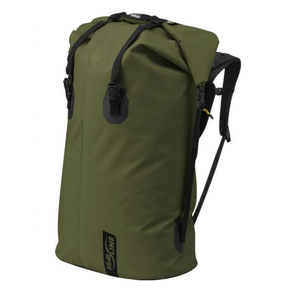 Герморюкзак SealLine Sealline Boundary Pack 65L темно-зеленый 65Л