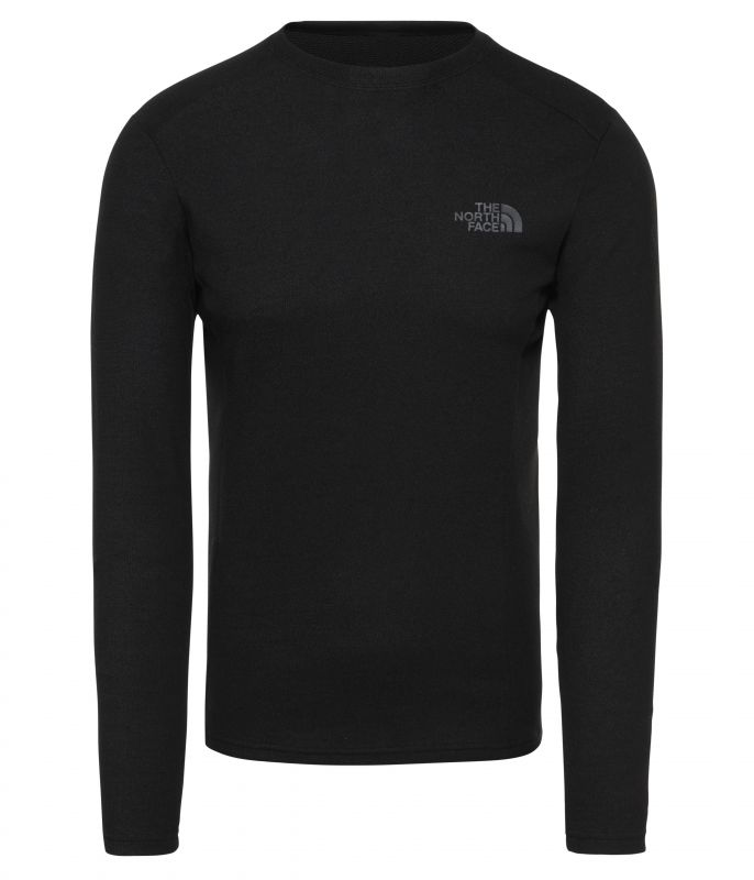Футболка The North Face The North Face Easy Long Sleeve Crew Neck tie neck butterfly sleeve top