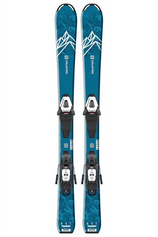 Купить Горные лыжи Salomon E QST MAX Jr S + C5 GW J75