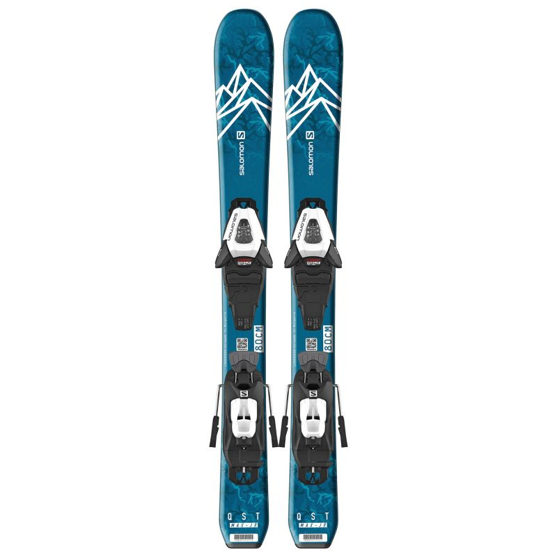 Купить Горные лыжи Salomon E QST MAX Jr XS + C5 GW J75