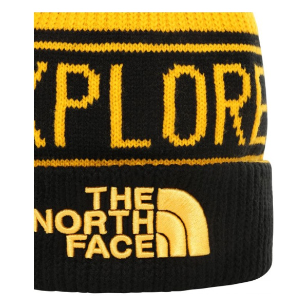 Шапка The North Face Retro Pom Beanie серый ONE