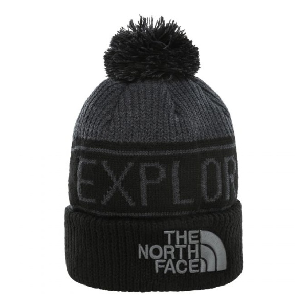 Шапка The North Face The North Face Retro Pom серый ONE шапка the north face the north face 94 rage темно розовый one