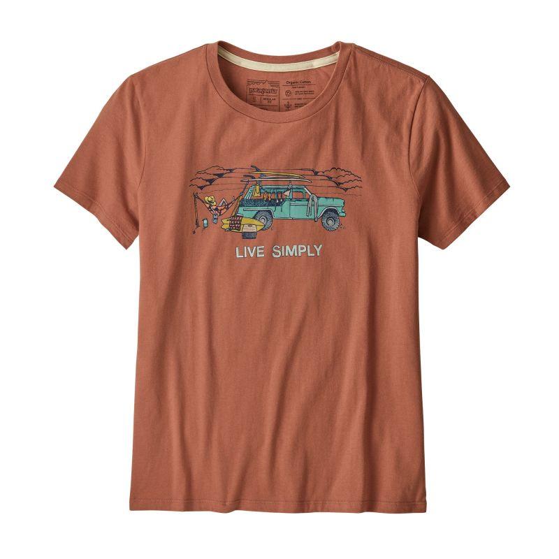 Футболка Patagonia Patagonia Live Simply Lounger Organic Crew T-Shirt patagonia patagonia capilene 1 t shirt женская