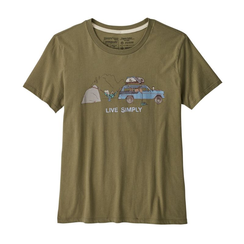 Футболка Patagonia Live Simply Lounger Organic Crew T-Shirt