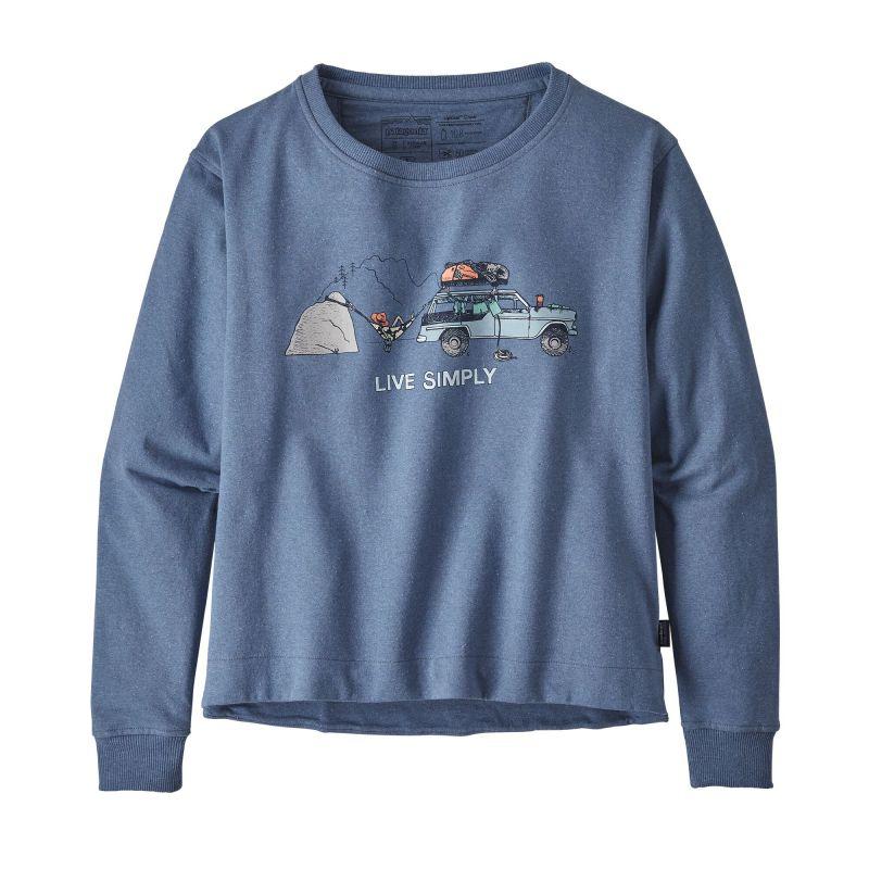 Толстовка Patagonia Live Simply Lounger Uprisal Crew Sweatshirt женская