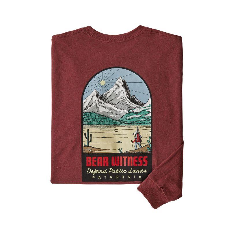 Купить Футболка Patagonia Long-Sleeve See&Believe Responsibili-Tee