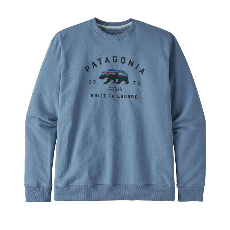 Толстовка Patagonia Arched Fitz Roy Bear Uprisal Crew