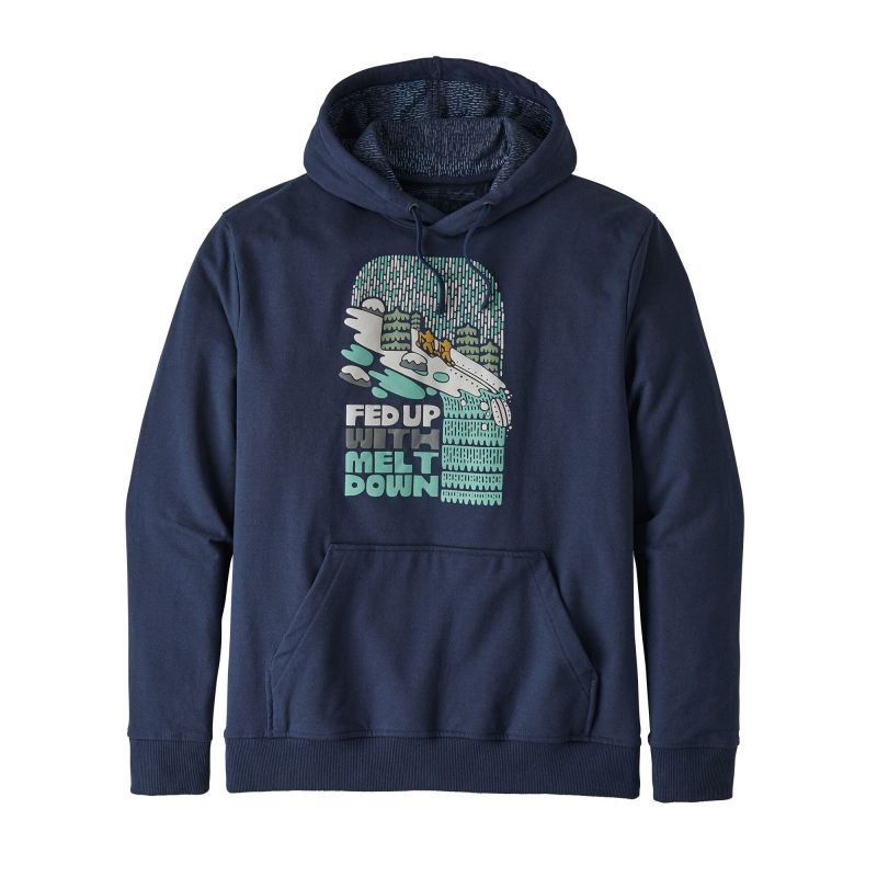 Толстовка Patagonia Patagonia Fed Up With Melt Down Uprisal Hoody