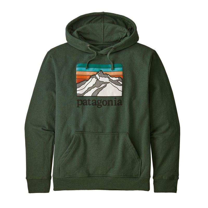 Толстовка Patagonia Patagonia Line Logo Ridge Uprisal Hoody цена 2017