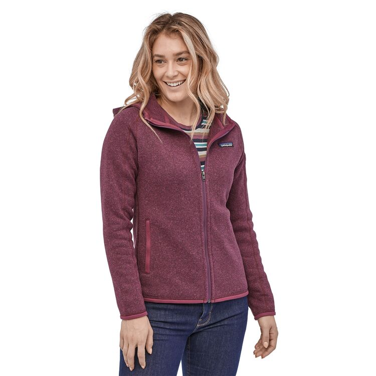 Купить Куртка Patagonia Better Sweater Hoody женская