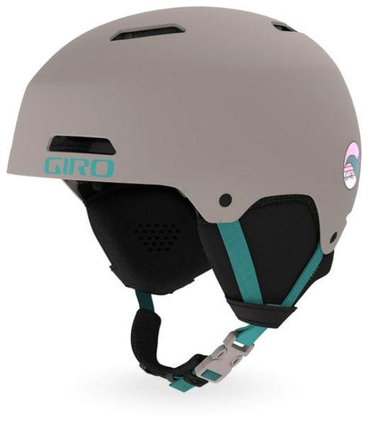Горнолыжный Giro шлем Ledge серый S(52/55.5CM)
