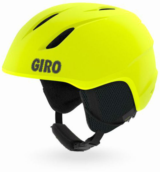 Горнолыжный Giro шлем Giro Launch детский желтый XS(48.5/52CM) горнолыжный giro шлем giro launch plus детский зеленый s 52 55 5cm