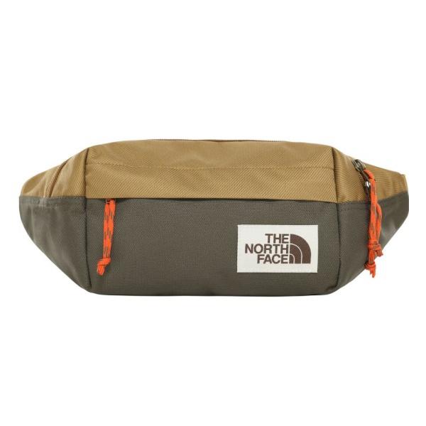 Сумка на пояс The North Face The North Face Lumbar Pack светло-коричневый OS сумка air pack small на пояс серый