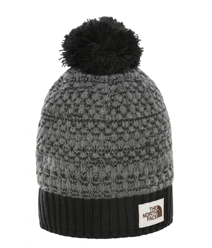 Шапка The North Face The North Face Antlers Beanie черный ONE шапка the north face the north face windwall beanie черный sm