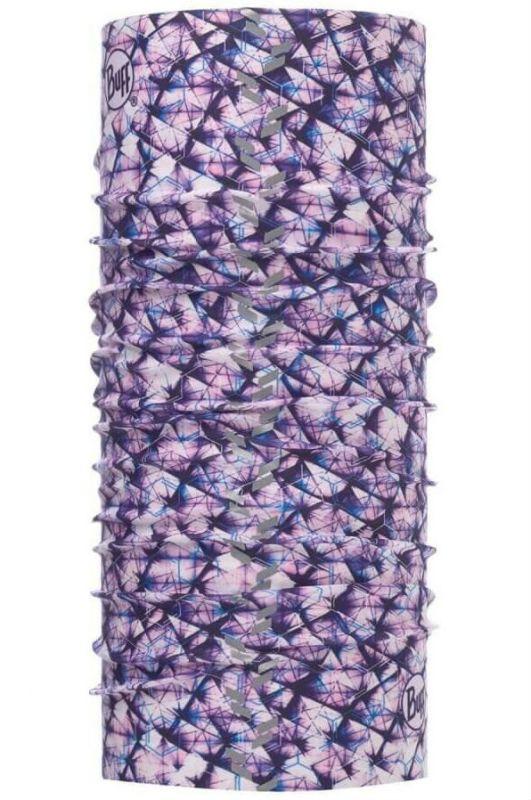 Купить Бандана Buff Reflective R-Adren Purple Lilac