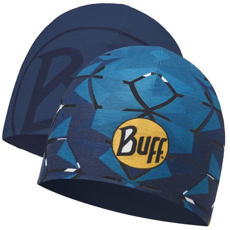 Шапка BUFF Buff Microfiber Reversible Hat темно-синий ONE шапка buff buff bu023cmgxam4