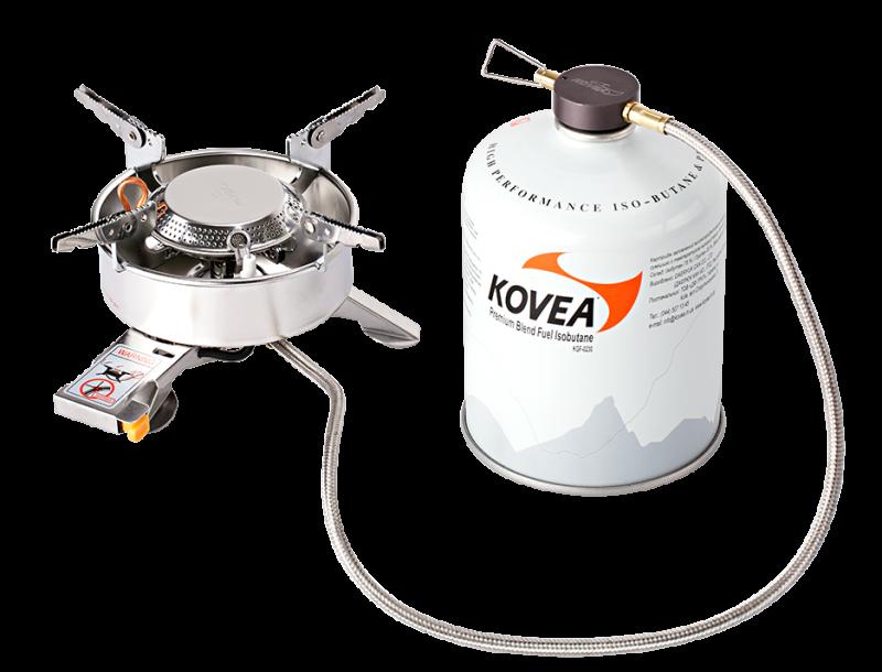 Купить Горелка газовая со шлангом Kovea Expedition Stove Camp-1