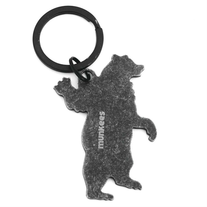 Купить Брелок-открывалка Munkees Медведь из нержавеющей стали