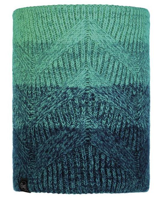 Шарф BUFF Buff Knitted&Polar Neckwarmer Masha голубой ONESIZE цена