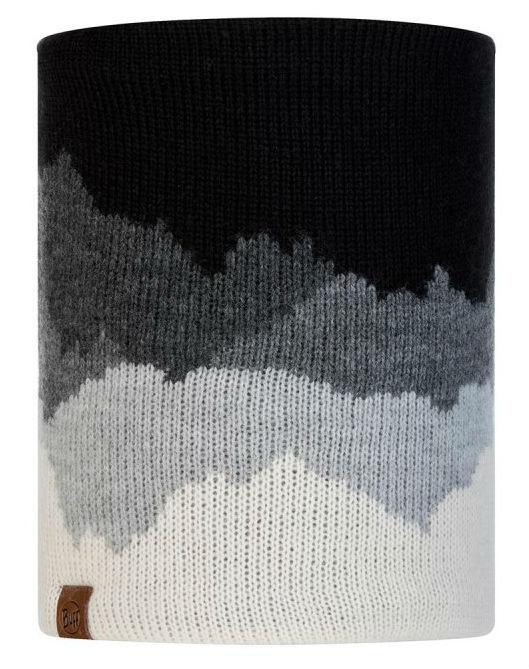 Шарф BUFF Buff Knitted&Polar Neckwarmer Sveta черный ONESIZE buff бандана polar buff