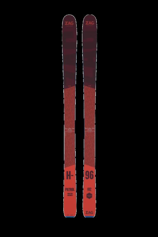Купить Горные лыжи ZAG H96