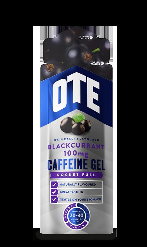 Купить Гель энергетический углеводный Ote Sports с кофеином, Черная смородина