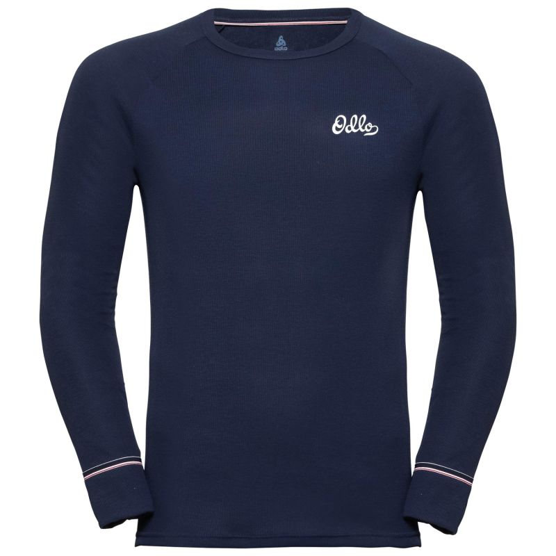 Футболка Odlo Odlo Bl Top Crew Neck L/S Active Warm Origina