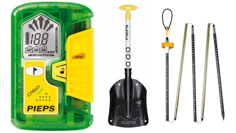 Купить Комплект (датчик, щуп, лопата) Pieps Set Sport