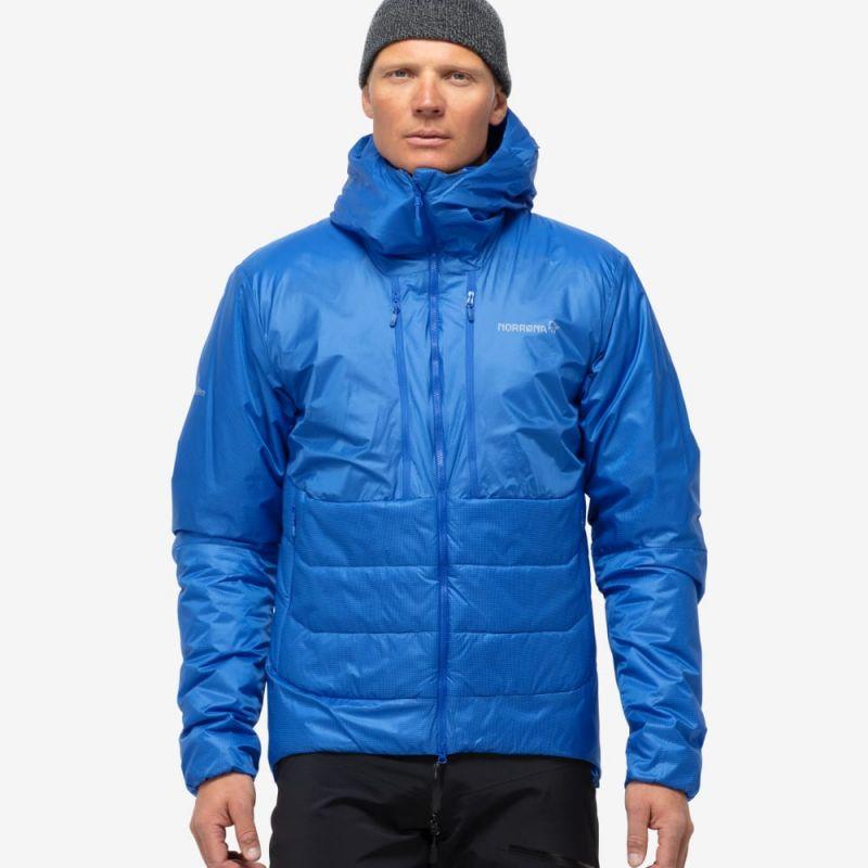 Купить Куртка Norrona Trollveggen Primaloft 100 Zip Hood