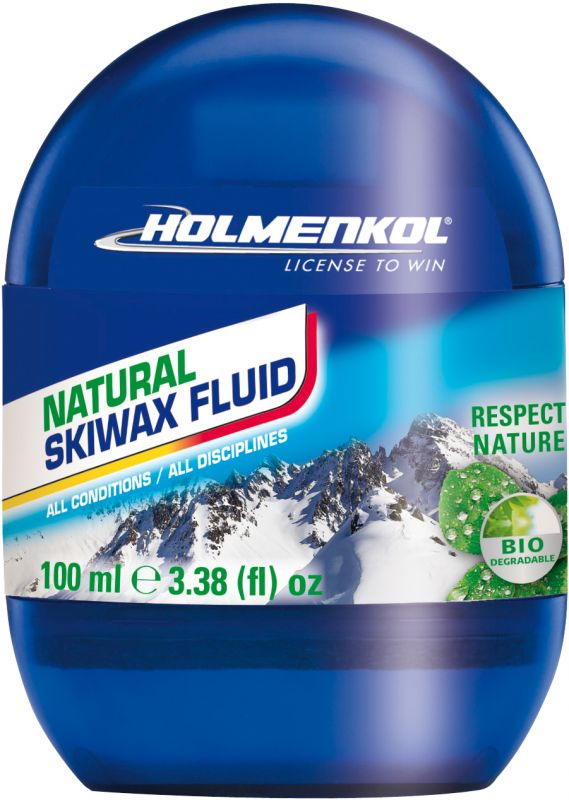 Купить Мазь лыжная универсальная Holmenkol. Спрей Natural Wax Fluid