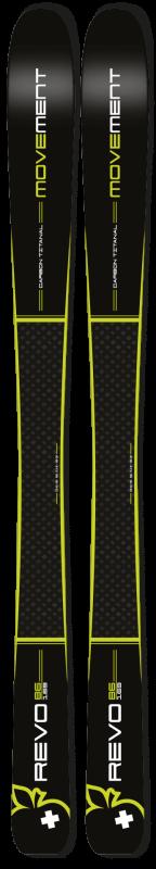 Купить Горные лыжи Movement Skis Revo 86