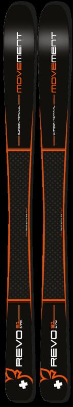 Купить Горные лыжи Movement Skis Revo 91