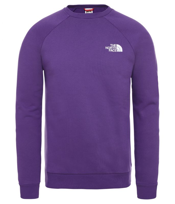 Толстовка The North Face Raglan Redbox Crew