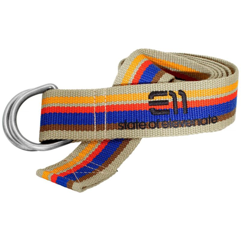 Ремень Elevenate Elevenate Striped Belt синий