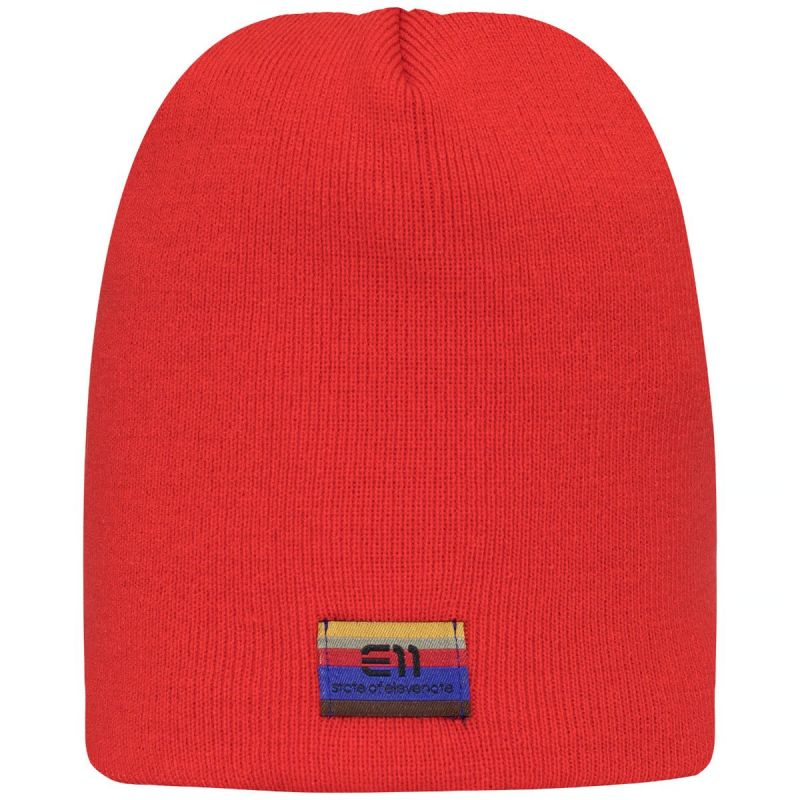 Шапка Elevenate Elevenate Logo красный шапка ess logo beanie jr puma шапка ess logo beanie jr