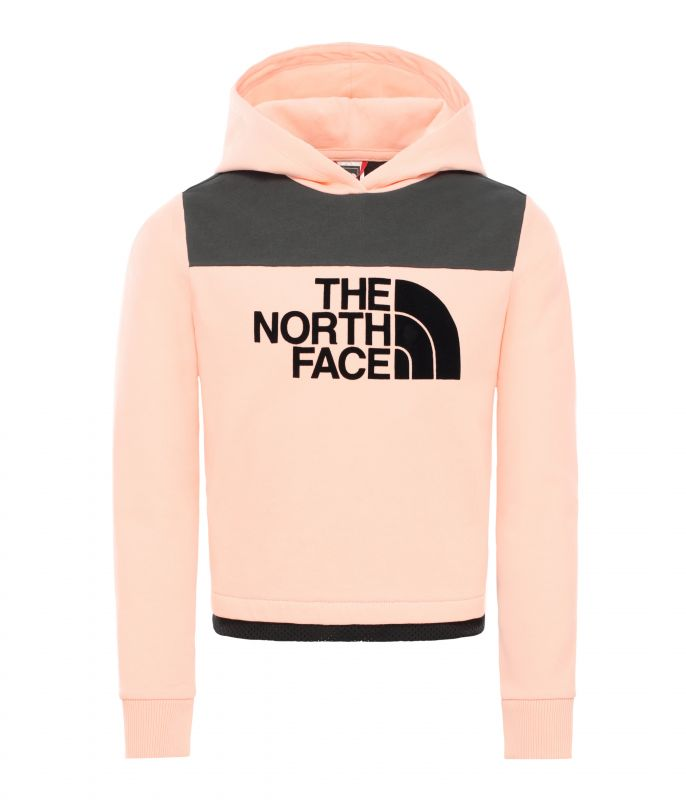 Толстовка The North Face Cropped детская