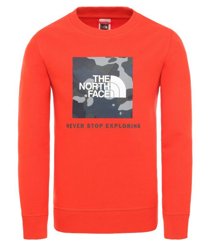 Купить Футболка The North Face Box Crew детская