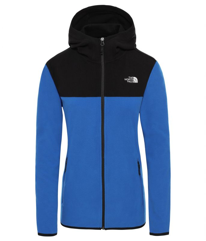 Куртка The North Face The North Face Tka Glacier Full Zip Hooded Fleece женская