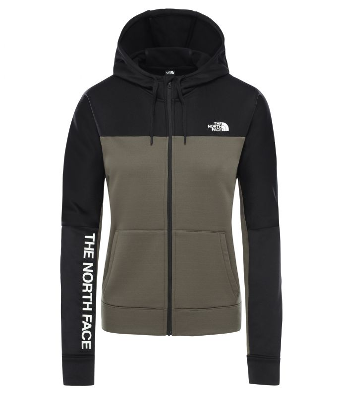 Толстовка The North Face Train N Logo Full Zip женская