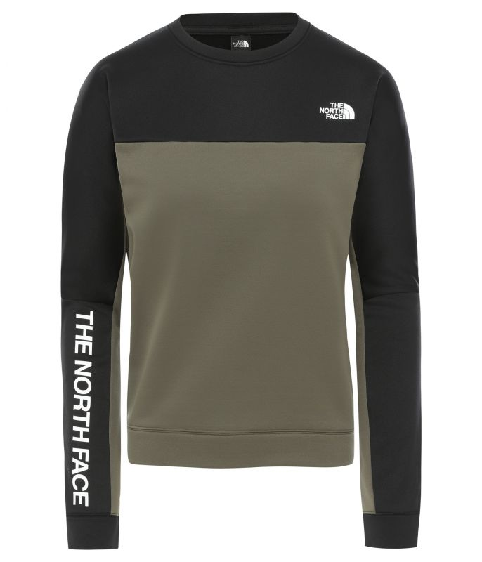 Толстовка The North Face The North Face Train N Logo Crop женская ветровка the north face the north face th016emffws1