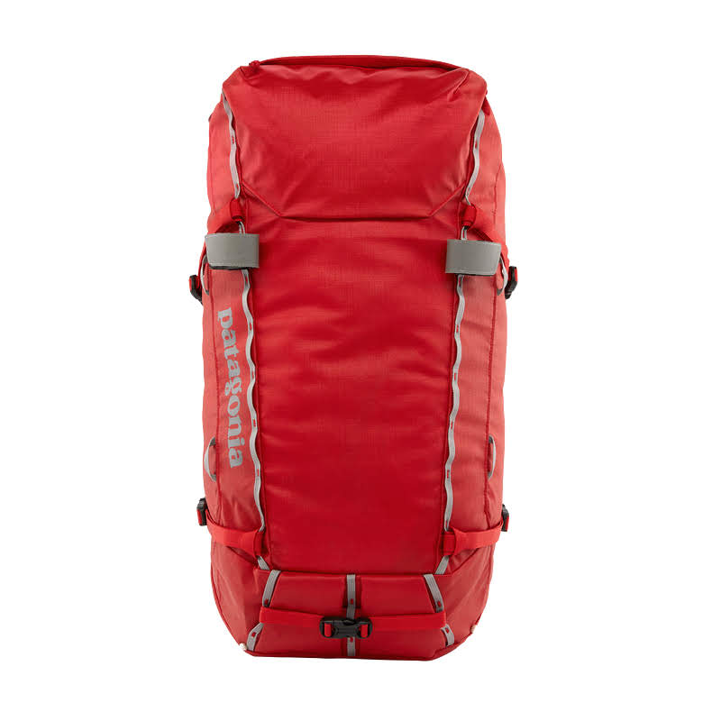 цена Рюкзак Patagonia Patagonia Ascensionist 35L темно-красный 35Л/L онлайн в 2017 году