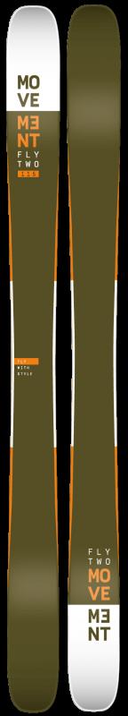 Купить Горные лыжи Movement Skis Fly Two 115 Ski