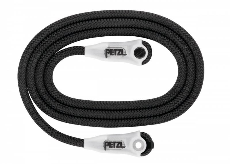 Строп для позиционирования Petzl Petzl Rope For Grillon черный 2M мешочек petzl jet с грузом для заброски 350г