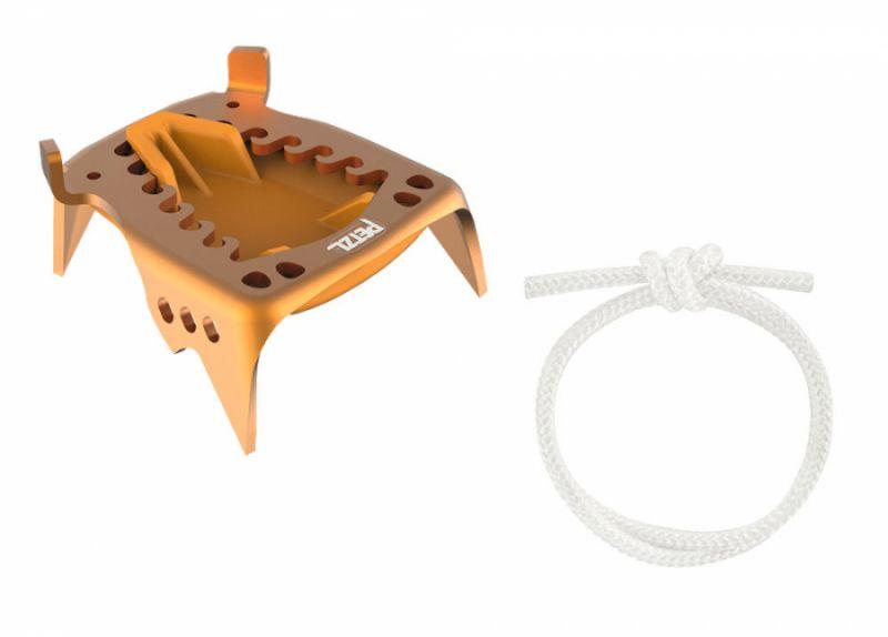 Купить Cекция задняя из алюминия для кошек и запасной шнур Petzl Cord-Tec Kit