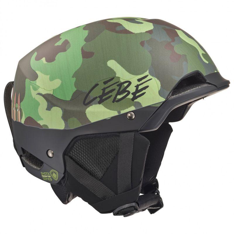 Горнолыжный Cebe шлем Cebe Method хаки 56/58 cebe cebe kite черный small