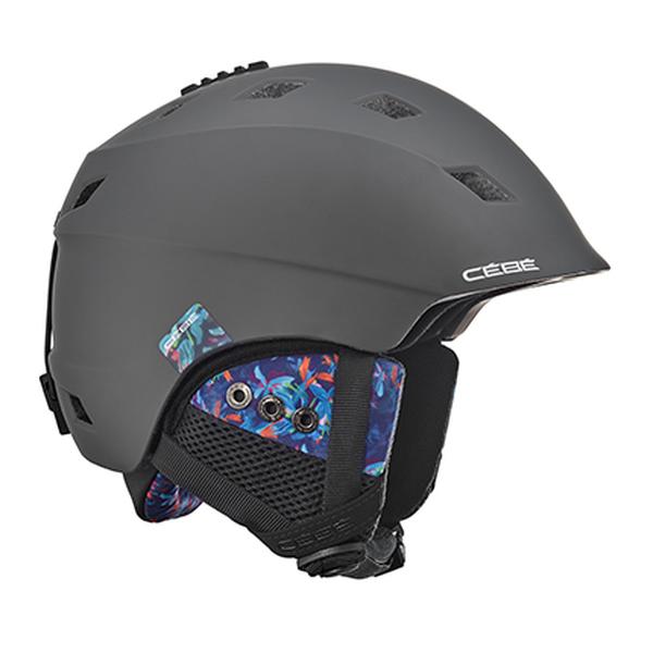Горнолыжный Cebe шлем Cebe Ivory серый 56/58 cebe cebe kite черный small