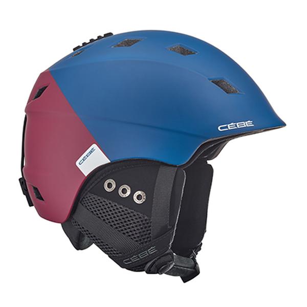 Горнолыжный Cebe шлем Cebe Ivory синий 59/61 cebe cebe kite черный small