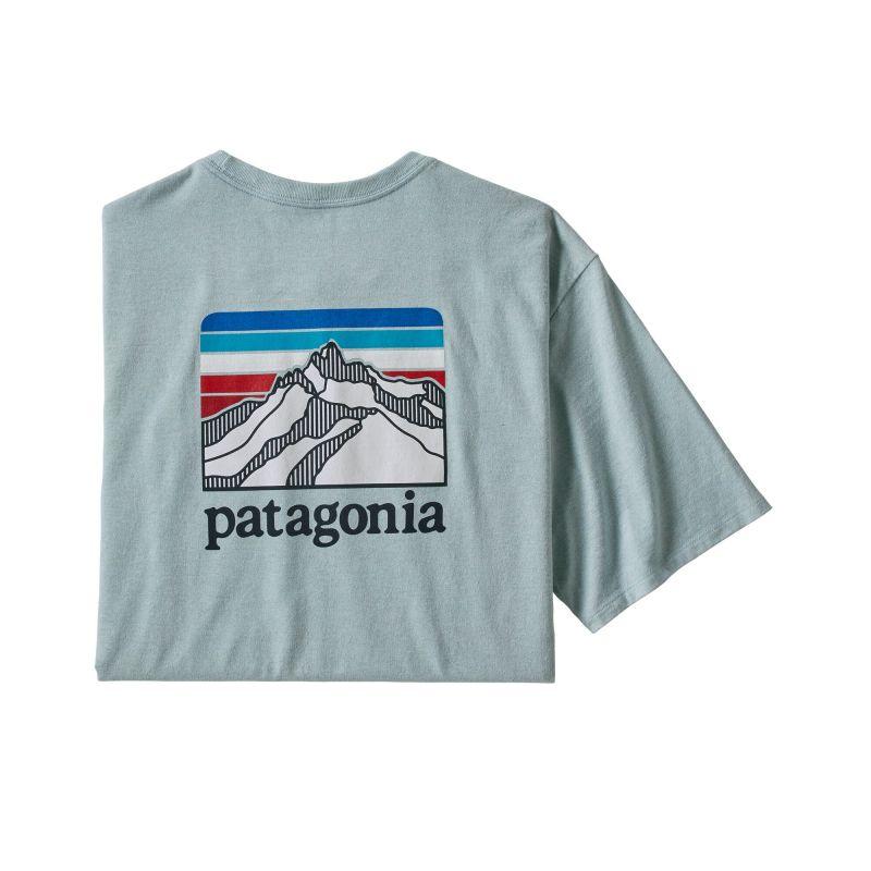 Купить Футболка Patagonia Line Logo Ridge Pocket Responsibili-Tee